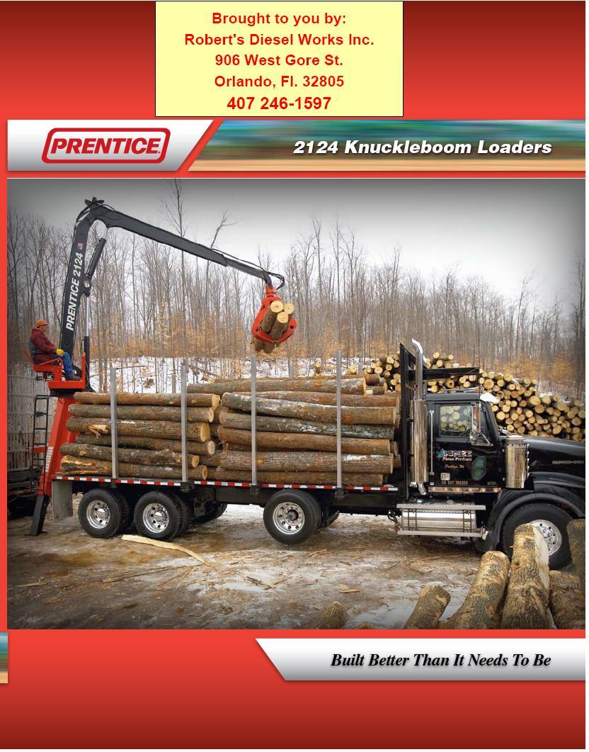 Prentice Cranes - Prentice Crane Sales, Service, Parts and