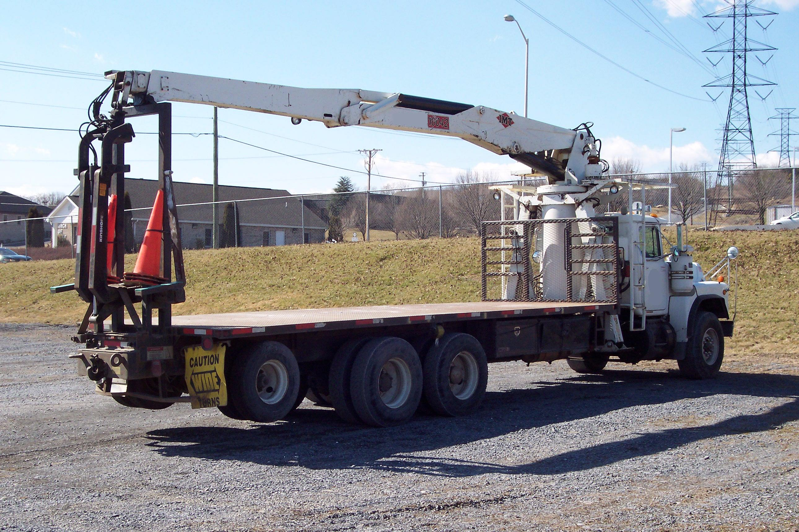 Imt 16042 Drywall Wallboard Boom Truck For Sale