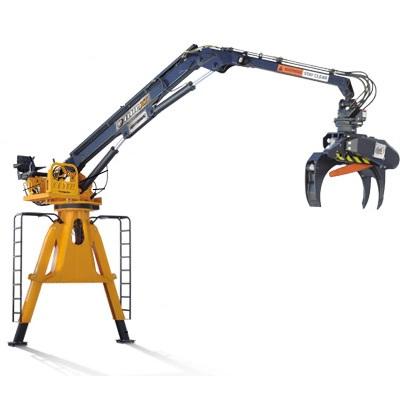 Rotobec Crane Grapple Loader| KnuckleBoom Crane
