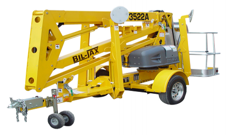 manlifts, man lifts. self propelled boom lifts, trailer